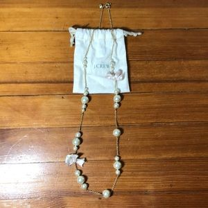 J Crew pearl statement necklace